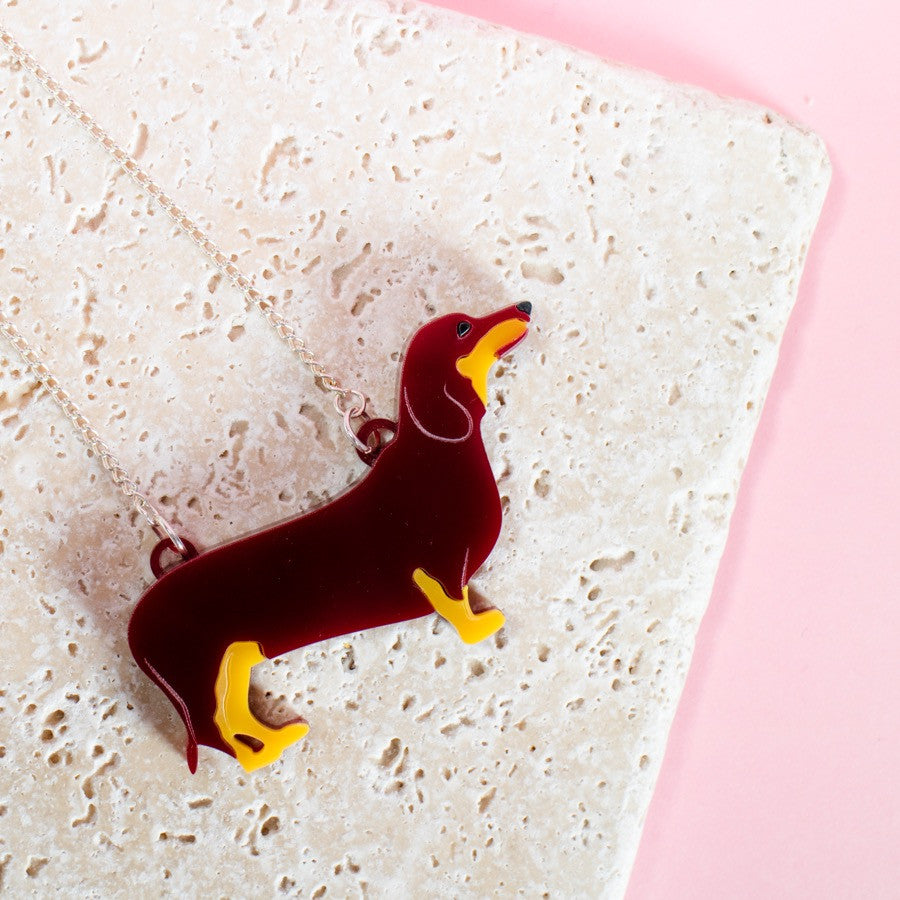 Dachshund Necklace - Finest Imaginary