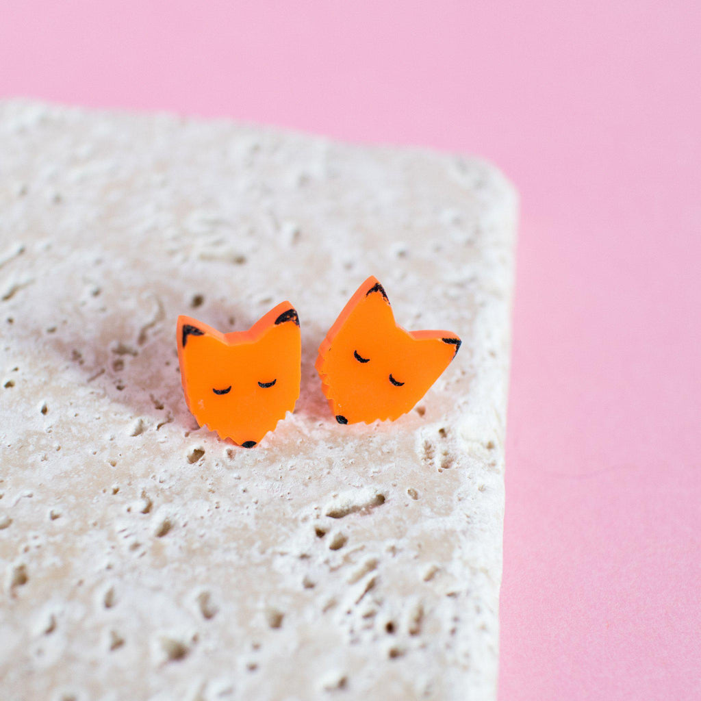 Fox Tales Earrings - Finest Imaginary