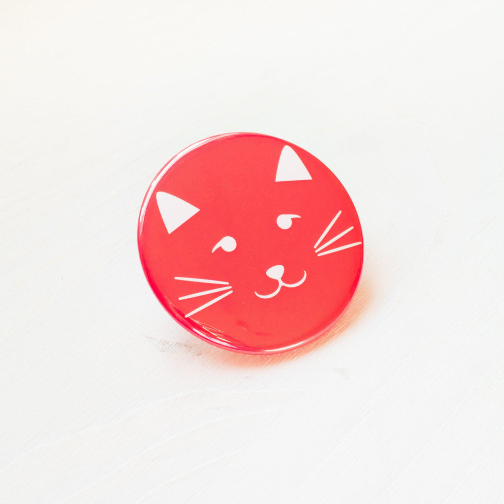 Kitty Face Pocket Mirror - Finest Imaginary