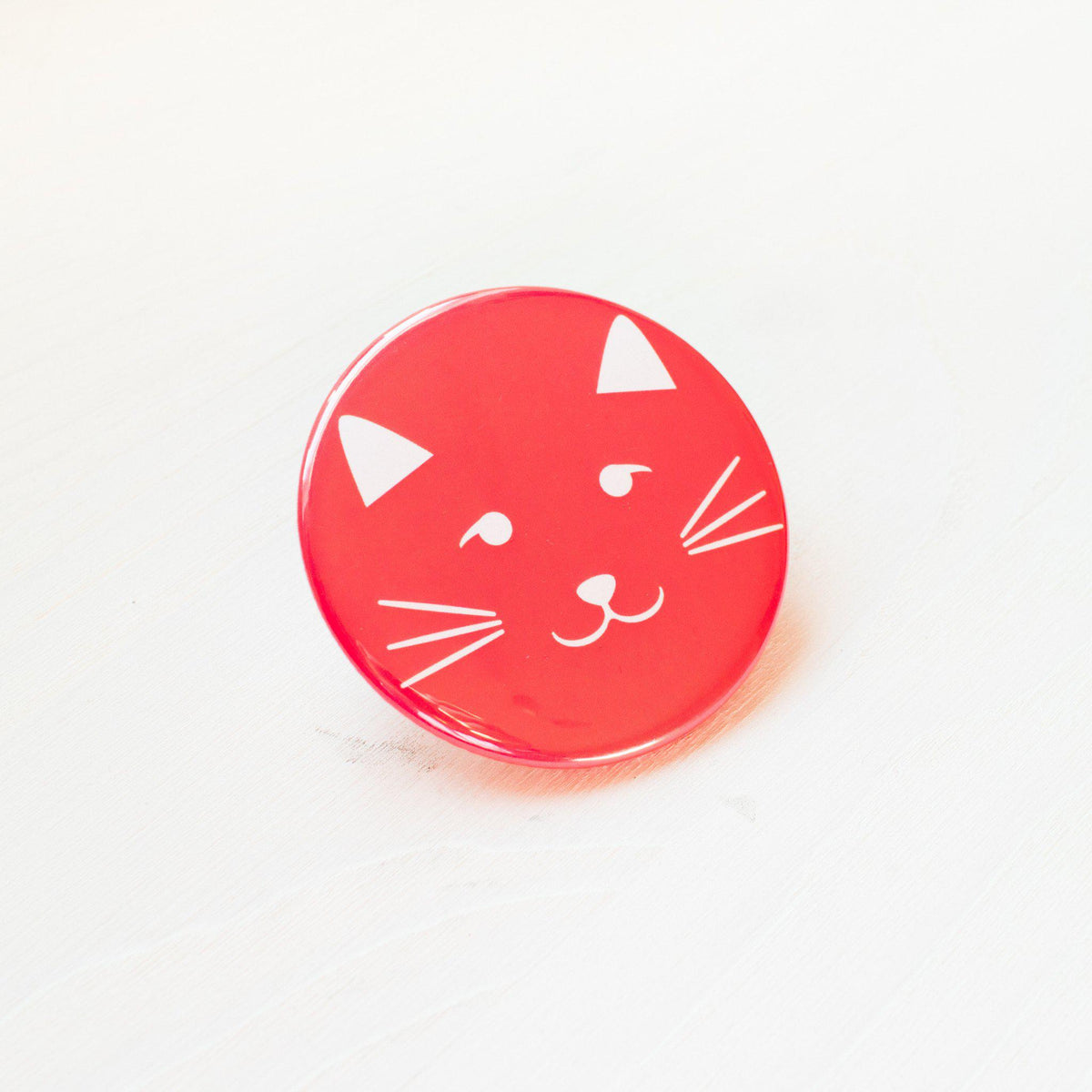 Kitty Face Pocket Mirror