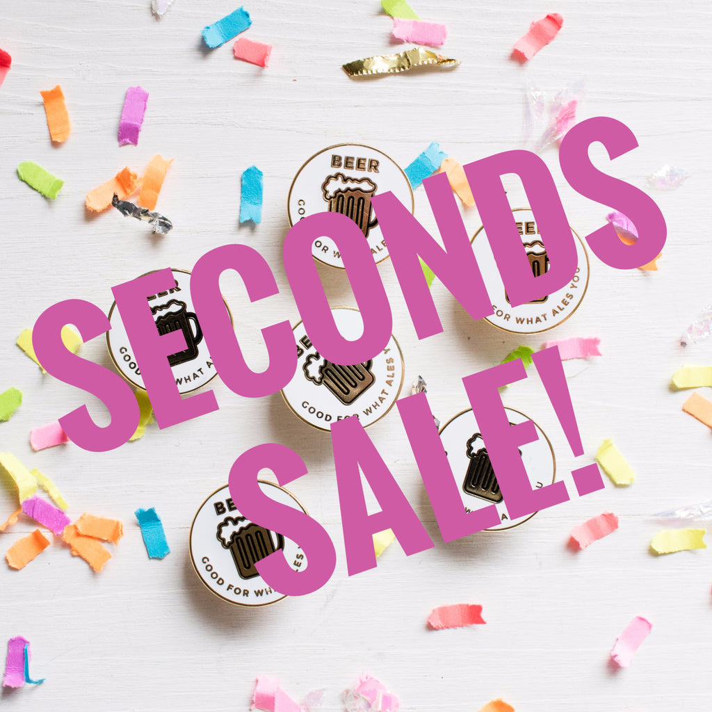 Beer Enamel Pin SECONDS SALE - Finest Imaginary