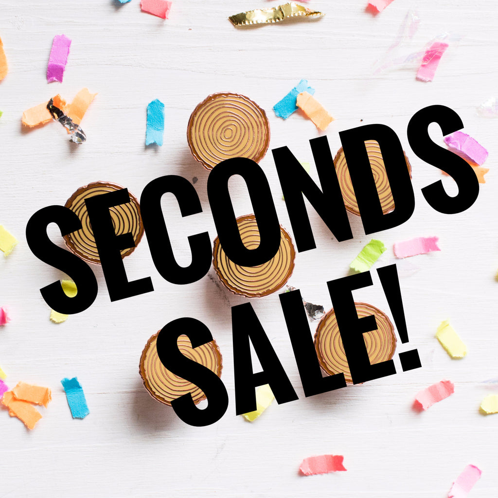Wood Slice Pin SECONDS SALE - Finest Imaginary