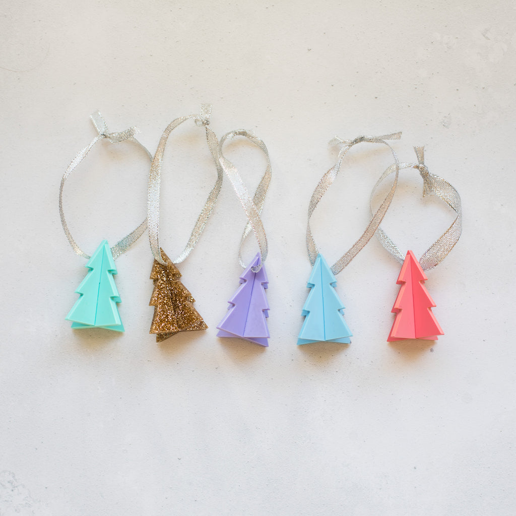 Pastel Christmas Tree Decoration - Finest Imaginary