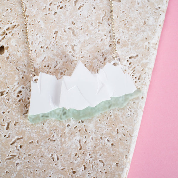 Multi Iceberg Necklace