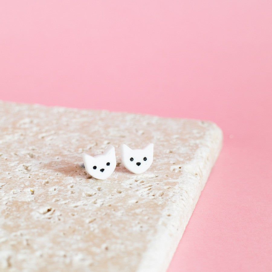 Kitty Cat Earrings - Finest Imaginary