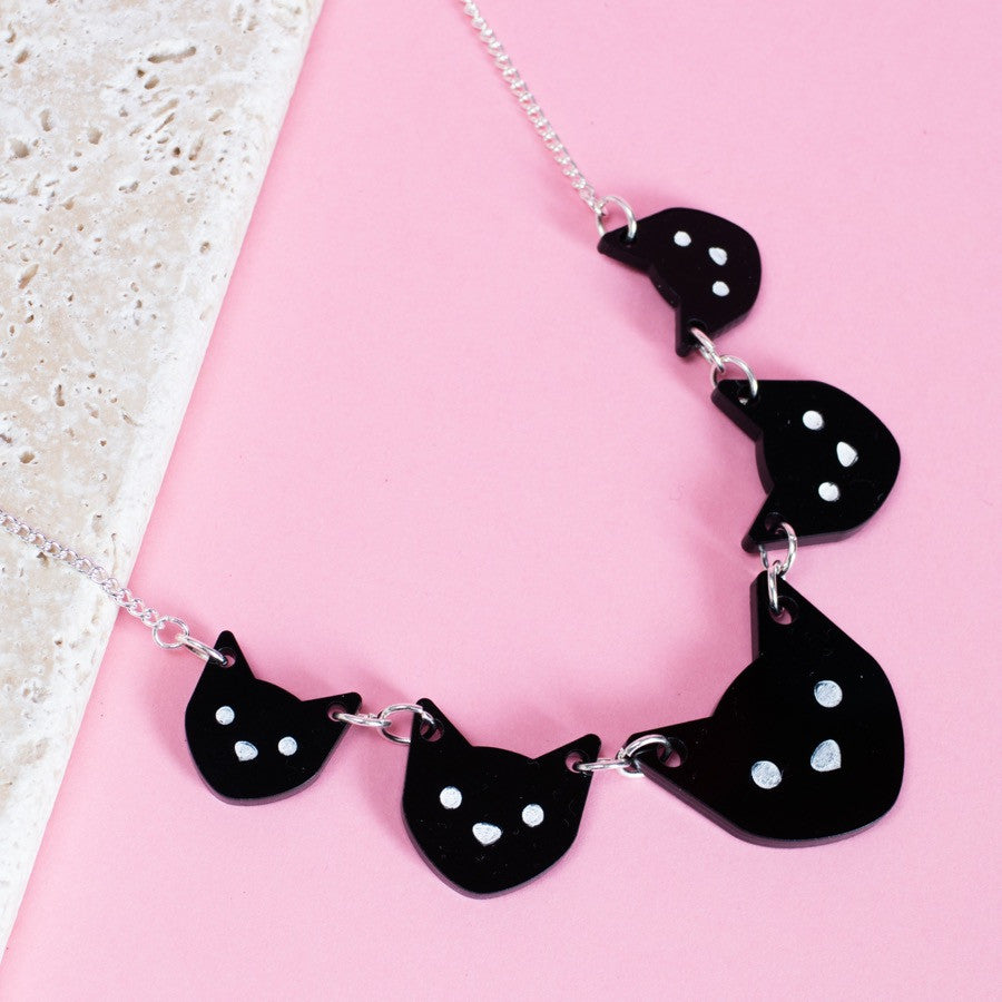 Cat Lady Necklace - Finest Imaginary