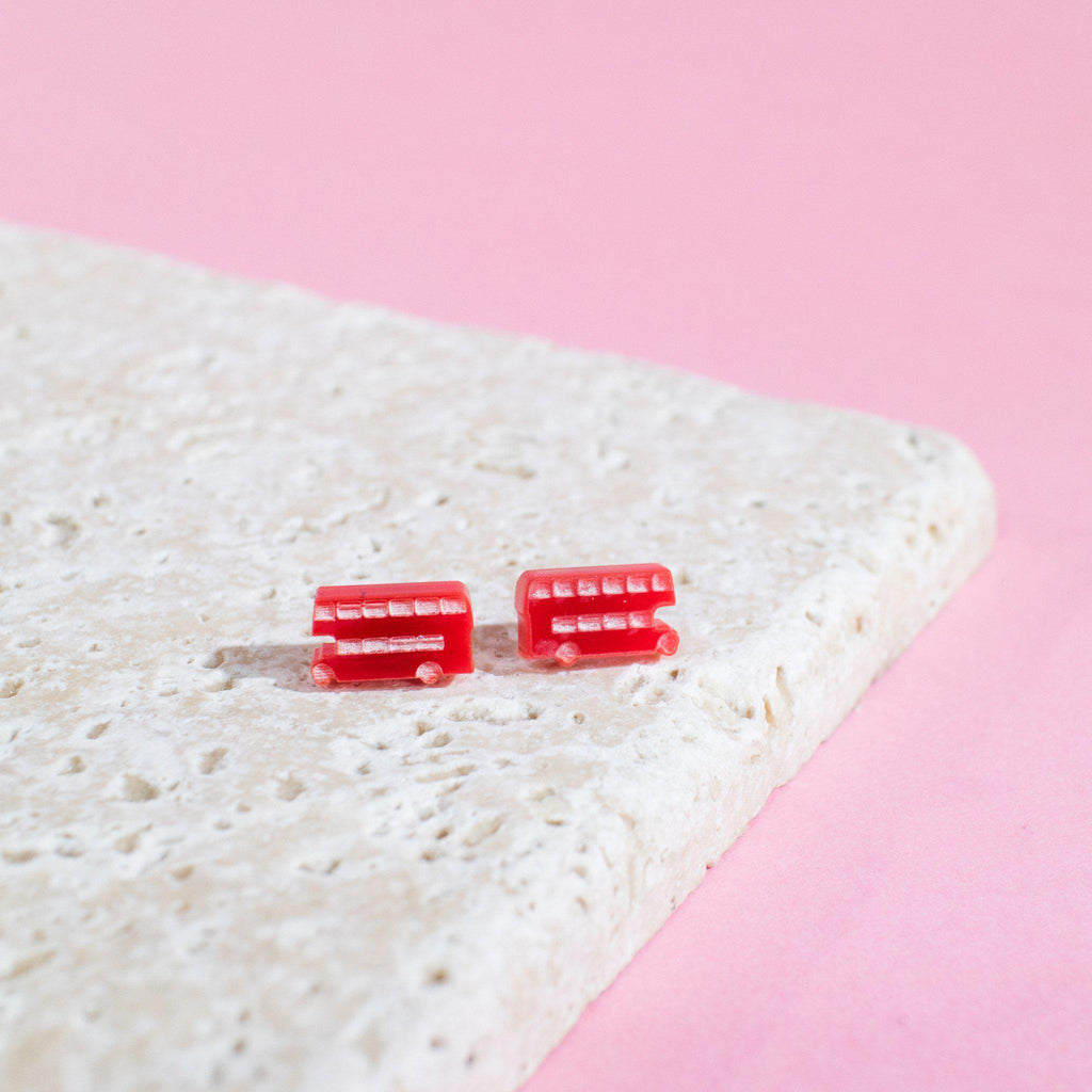 London Bus Earrings - Finest Imaginary