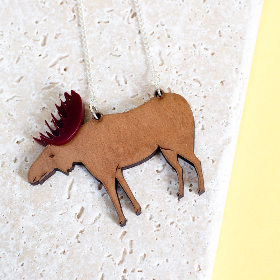 Moose Necklace - Finest Imaginary
