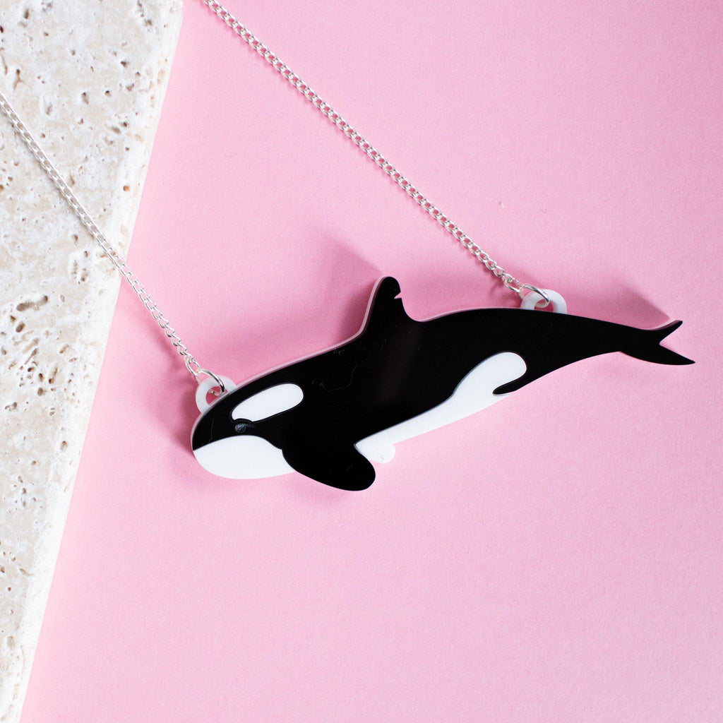Orca Necklace - Finest Imaginary