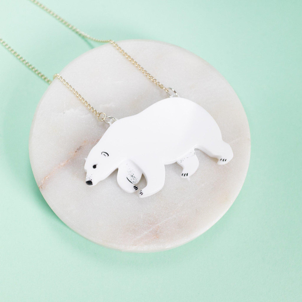 Polar Bear Necklace - Finest Imaginary