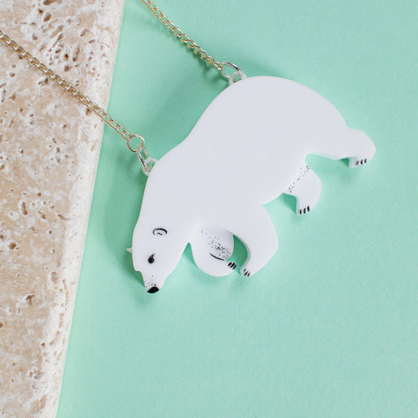 Polar Bear Necklace