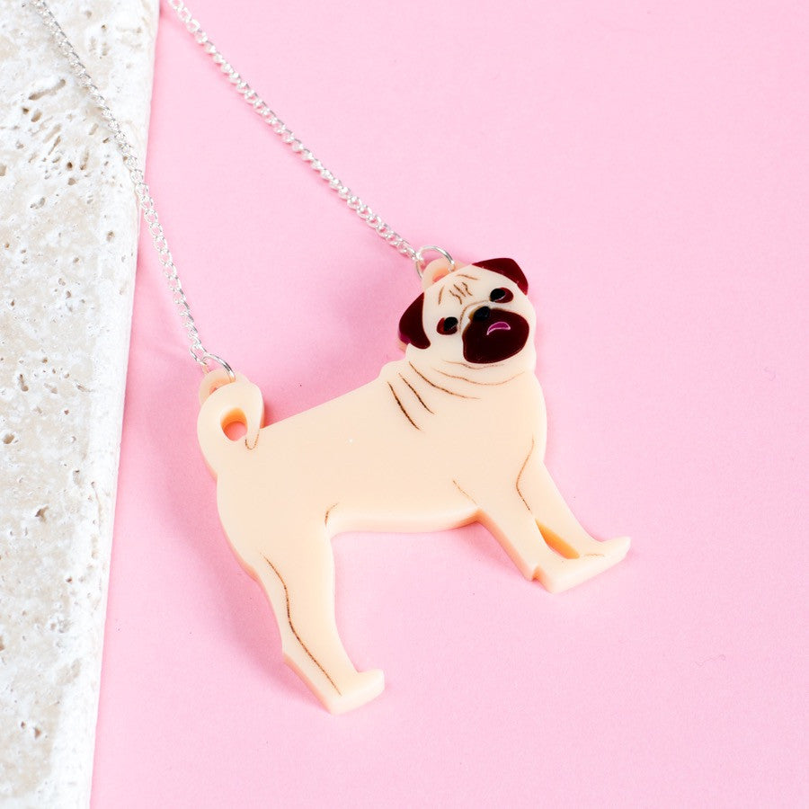 Pug Necklace - Finest Imaginary