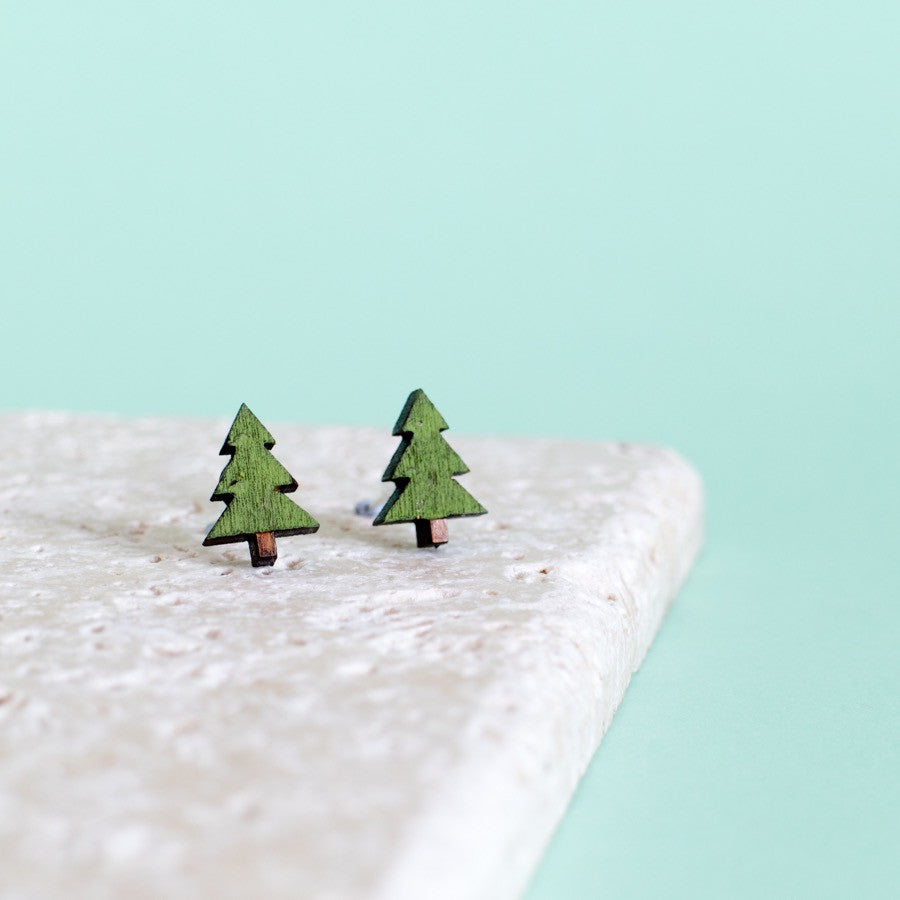Little Tree Earrings - Finest Imaginary