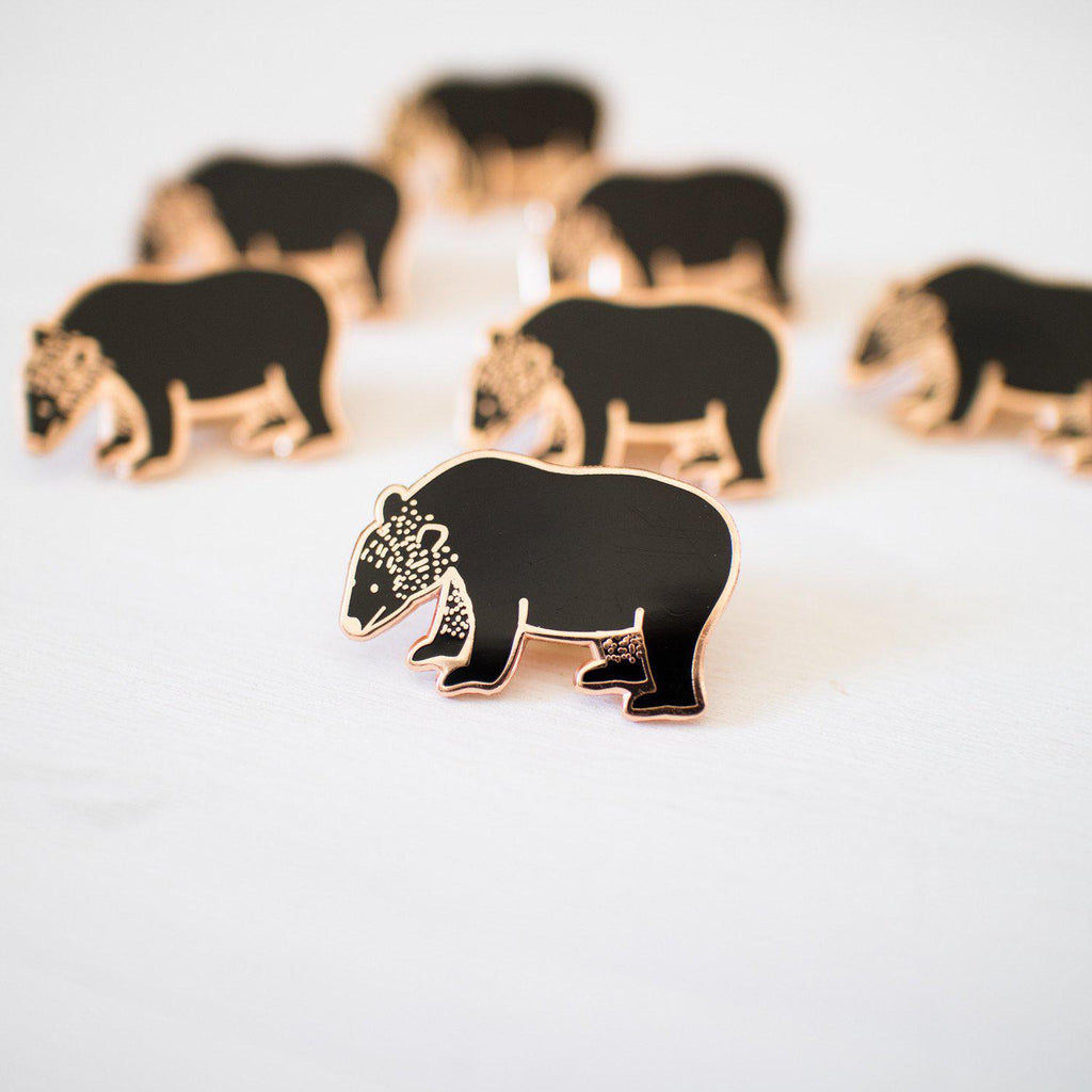 Bear Enamel Pin - Finest Imaginary