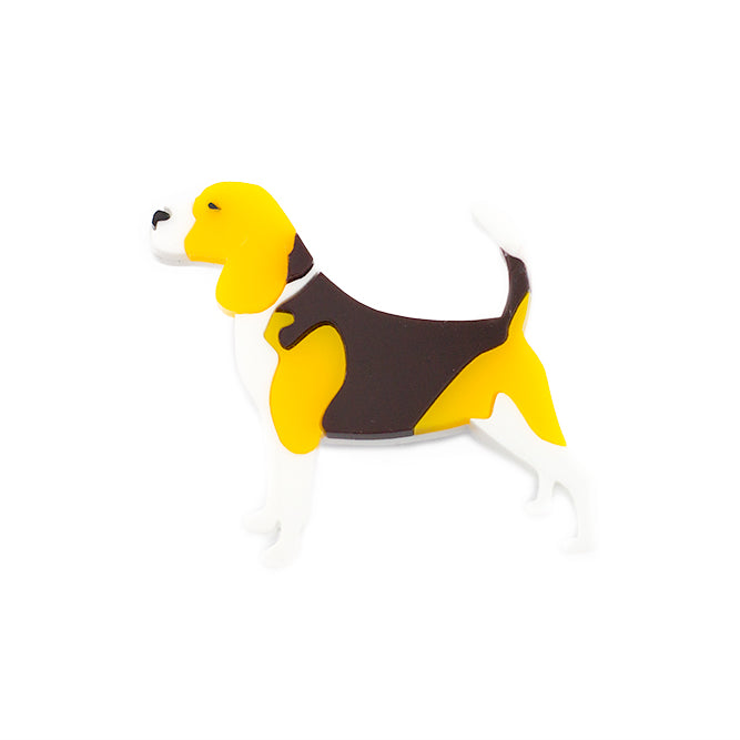 Beagle Brooch - Finest Imaginary