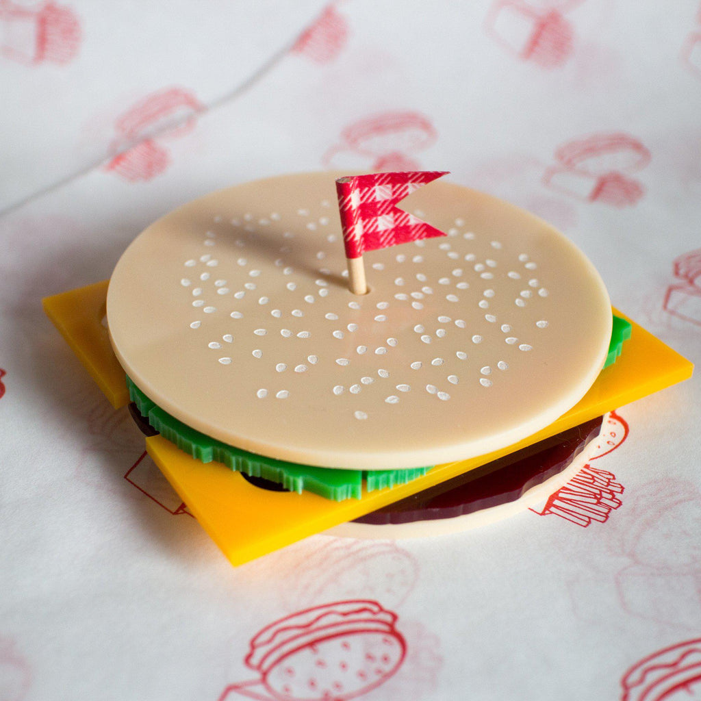Burger Coasters - Finest Imaginary