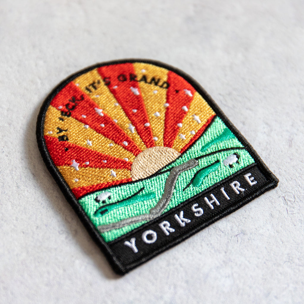 By 'Eck, It's Grand Yorkshire Patch - Finest Imaginary