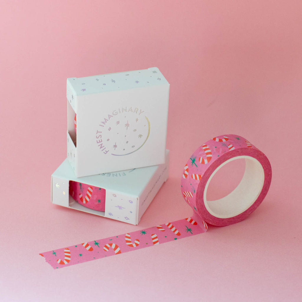 Candy Cane Washi Tape - Finest Imaginary