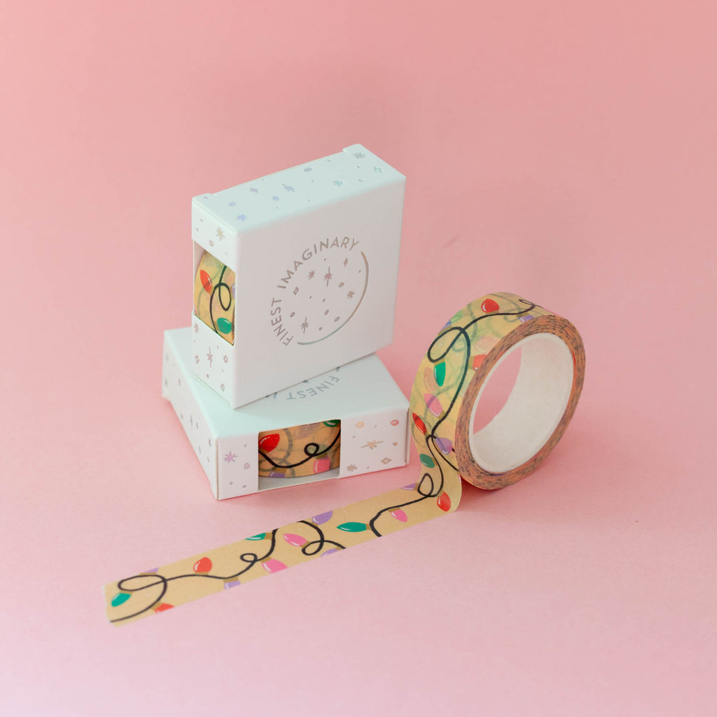Christmas Lights Washi Tape - Finest Imaginary