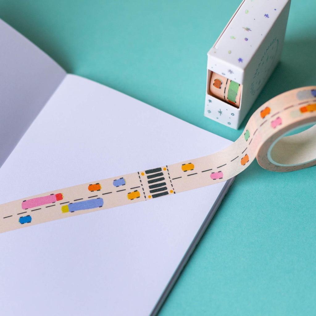 Rainbow Road Washi Tape - Finest Imaginary