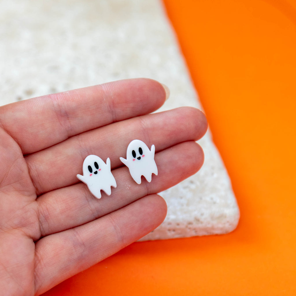 Cute Ghost Earrings - Finest Imaginary