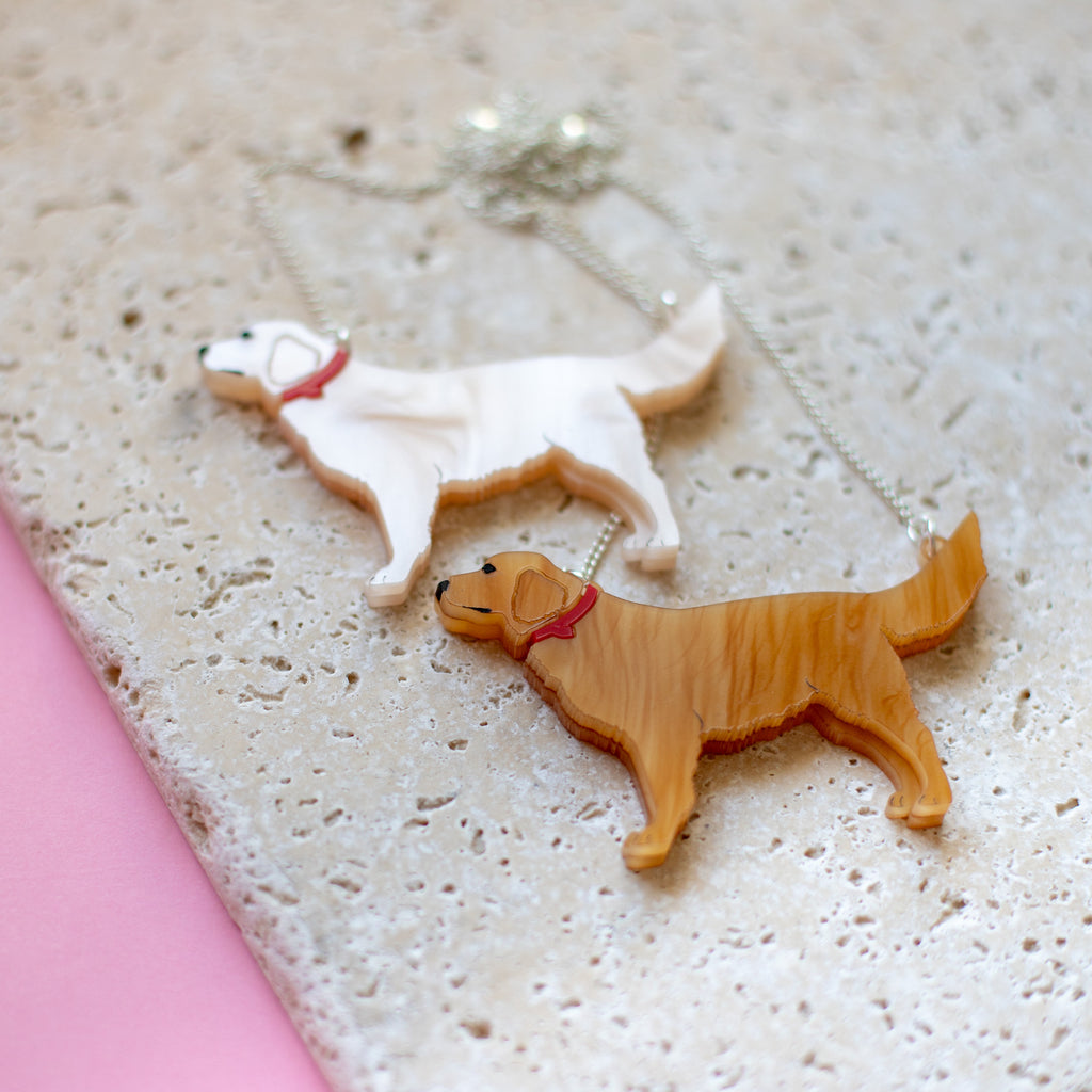 Golden Retriever Necklace - Finest Imaginary