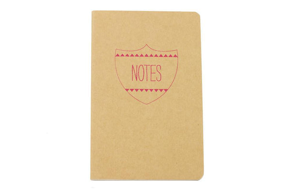 Notes Shield Notebook