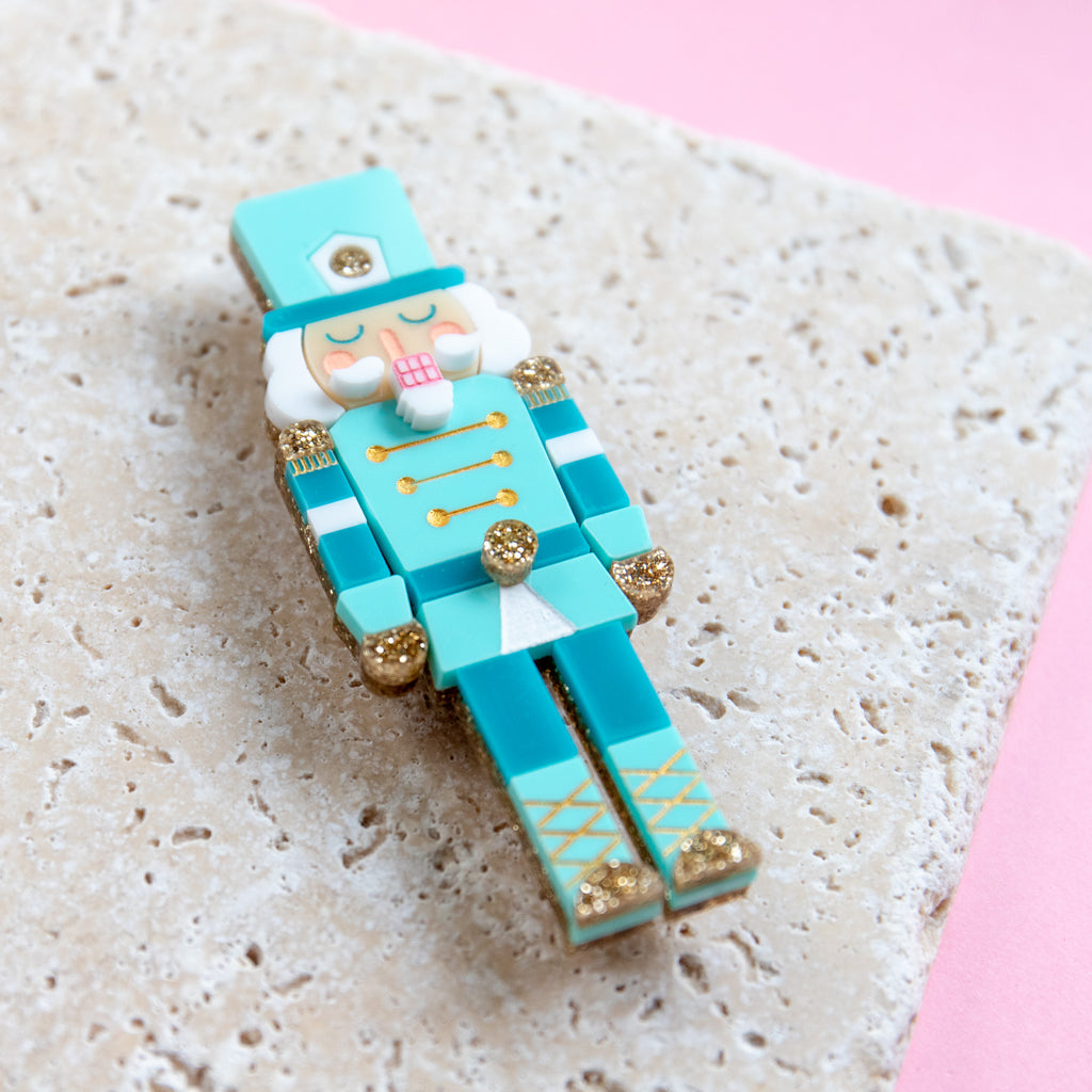 Nutcracker Brooch - Finest Imaginary