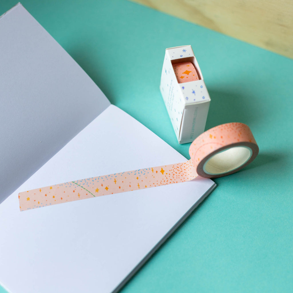Pink Galaxy Washi Tape - Finest Imaginary