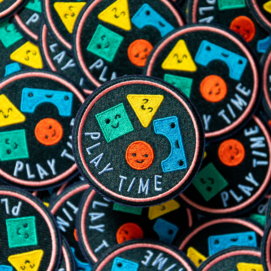 Play Time Patch-Finest Imaginary