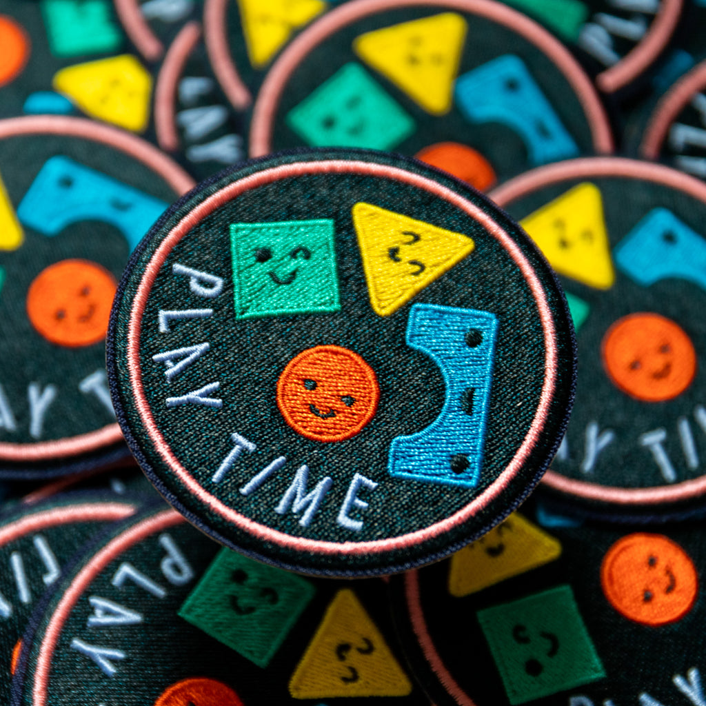 Play Time Patch - Finest Imaginary