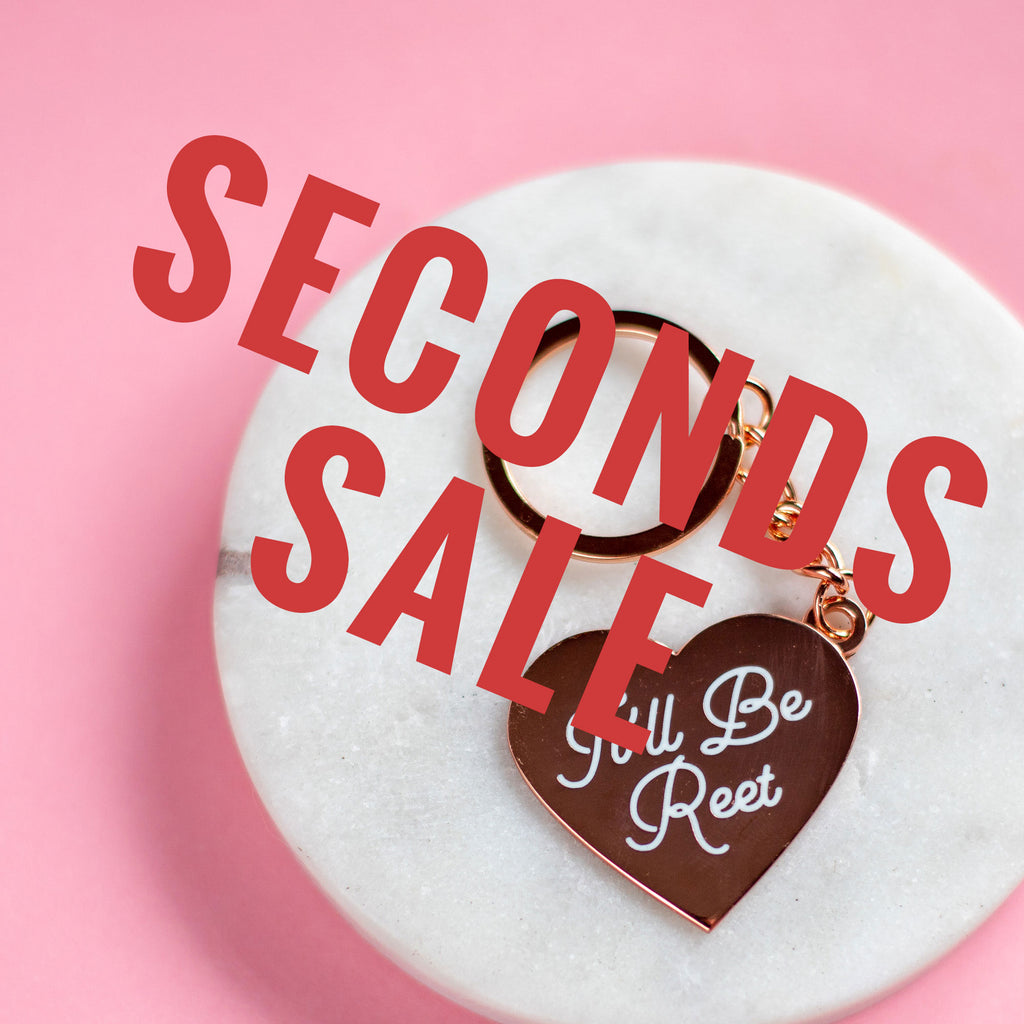 It'll Be Reet Keyring SECONDS SALE - Finest Imaginary