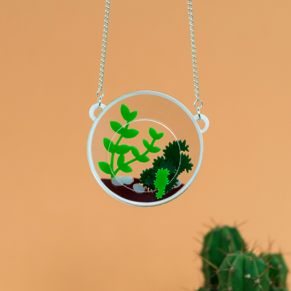 Round Terrarium Necklace