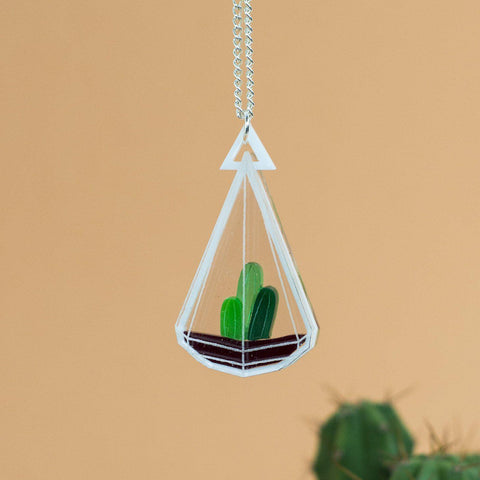 Small Terrarium Necklace