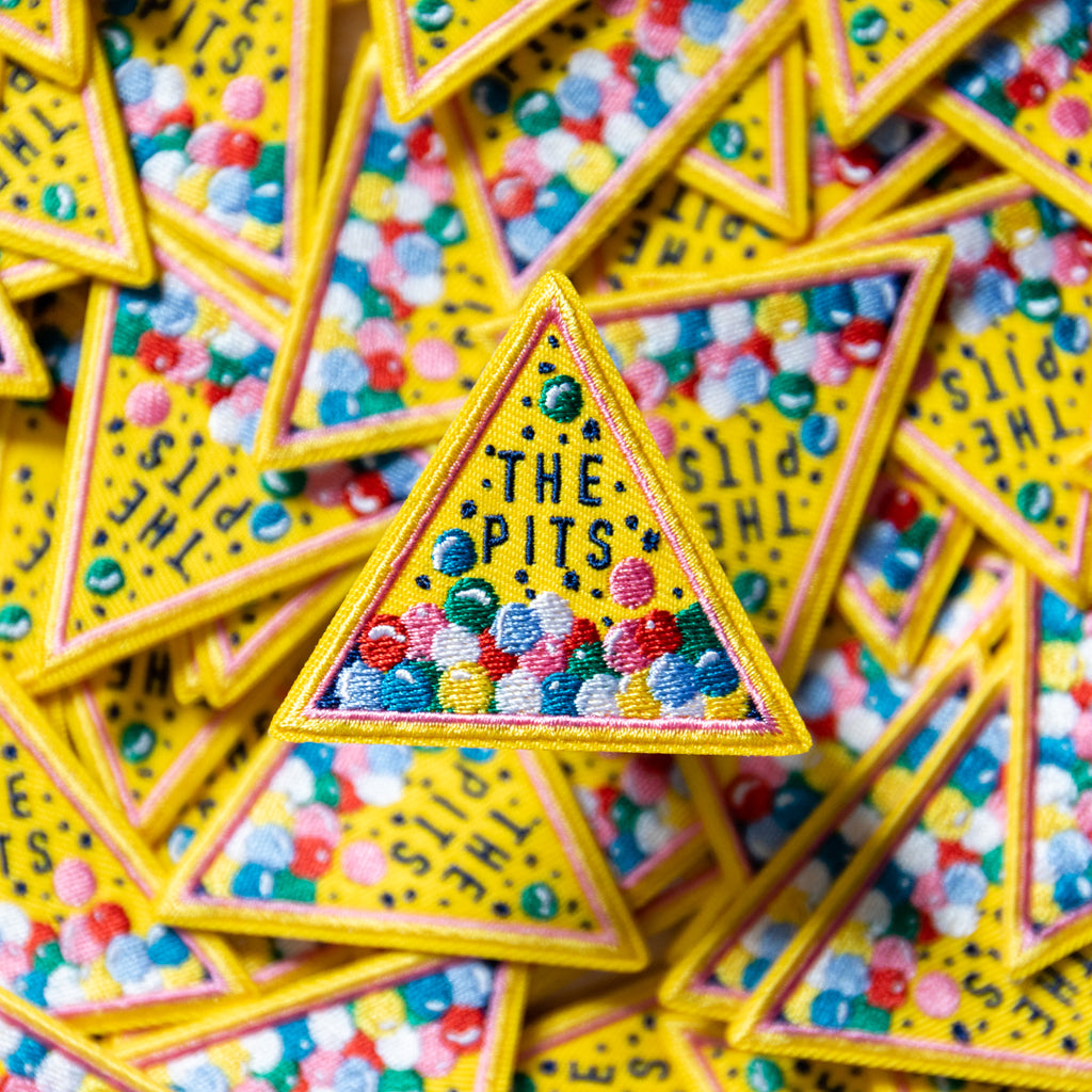 The Pits Ball Pit Patch-Finest Imaginary