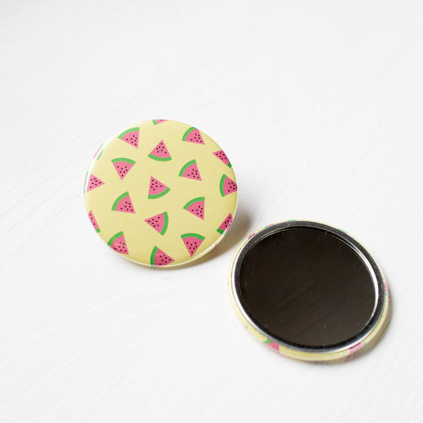 Watermelon Pattern Pocket Mirror