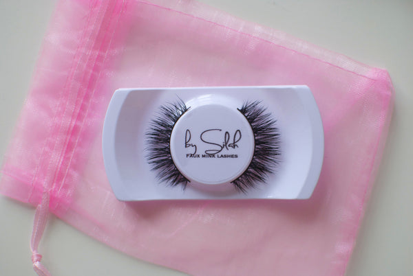 'Amber' faux mink lashes