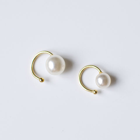 'Chloe' ear cuff set with pearls
