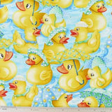 Rubber Duckies Fabric Pattern
