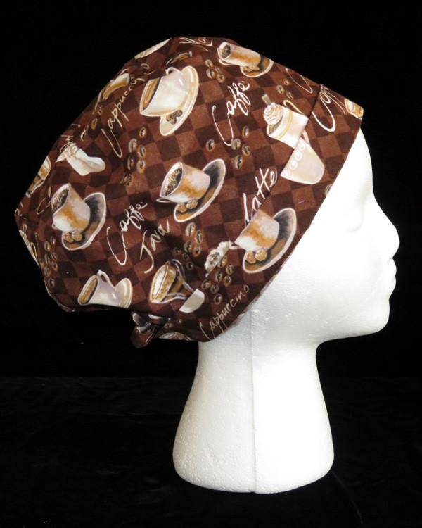 Coffee Cup Scrub Cap