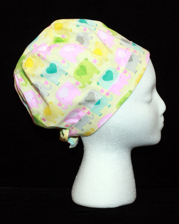 Baby Elephants Scrub Hat