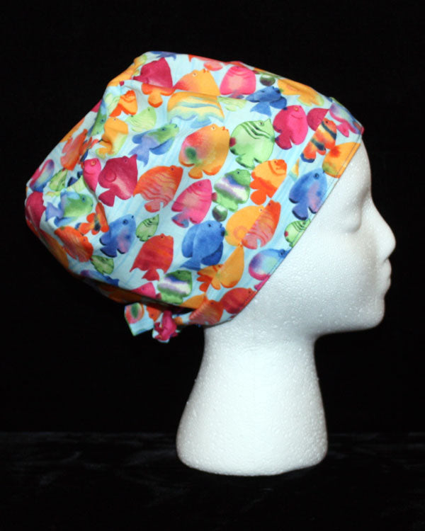 School of Fish Scrub Cap