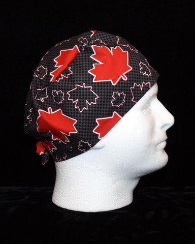 MENS - Black and Red Maple Leafs