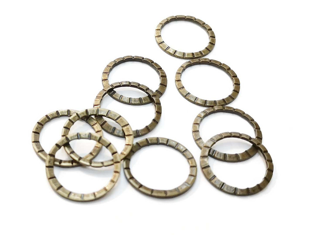 Ring, 16.5mm, 10 Pieces  | 銅圈, 16.5mm, 10個