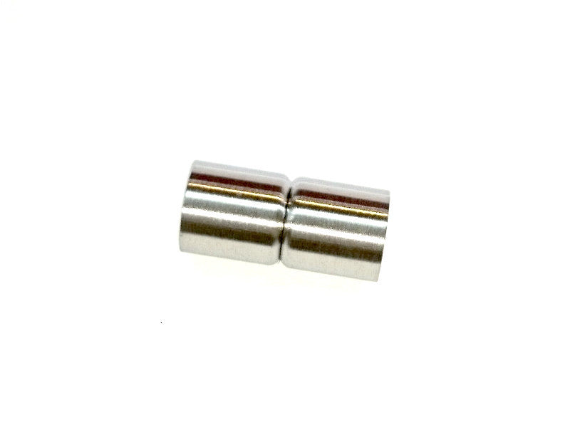 Stainless Steel Magnetic Clasp, 9x21mm Tube, 7mm Hole, Price Per Piece - amakeit bead 天富
