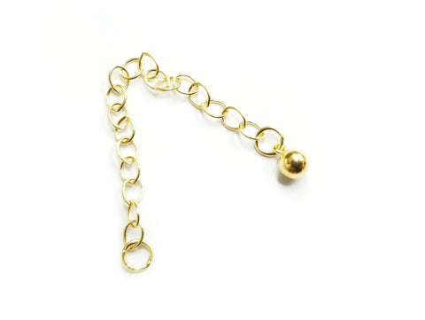 Extension Chain, Gold-filled, 1 Piece | 包金鏈尾, 1條