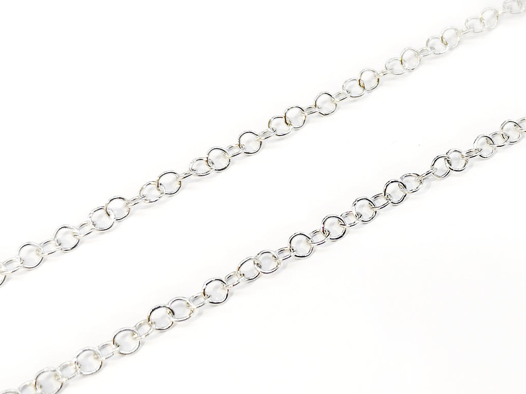 Stainless Steel Chain, Rolo chain, 1.3mm | 不鏽鋼鏈, 1.3mm, O型鏈