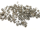 Bicone Glass Bead, 6mm, Black Diamond, 72 Pcs | 雙尖水晶玻璃, 6mm, 透明灰, 72粒