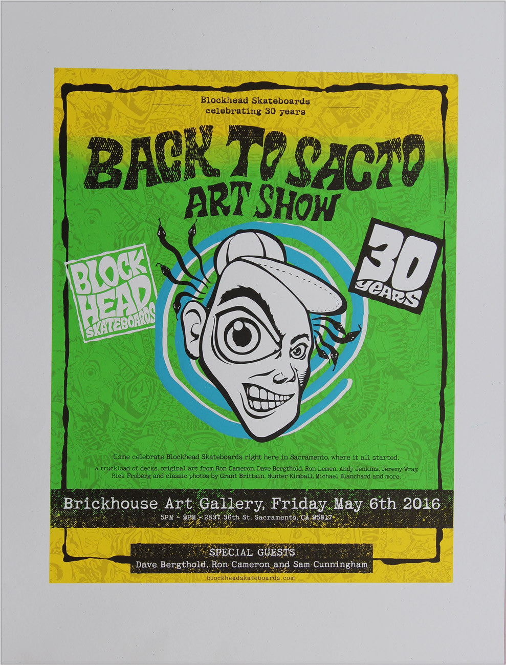 "Limited Edition - Signed and #'d ""Back to Sacto"" Art Print - SOLD OUT"