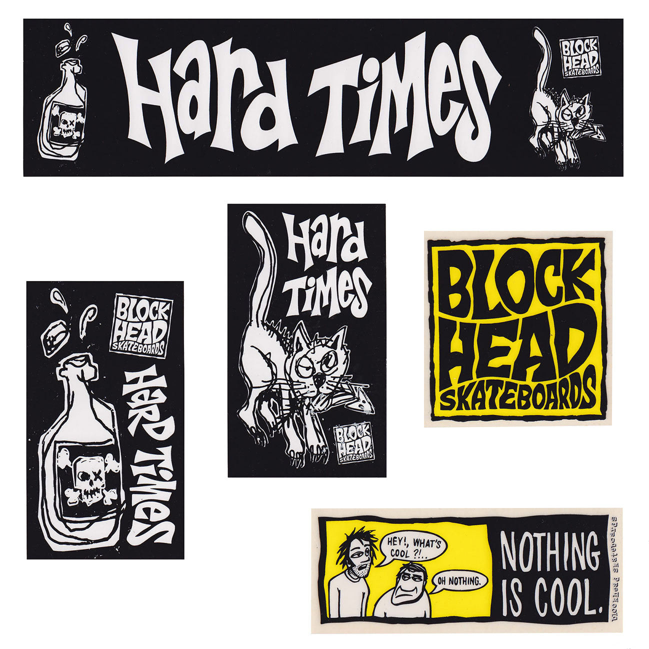 Blockhead NOS sticker pack